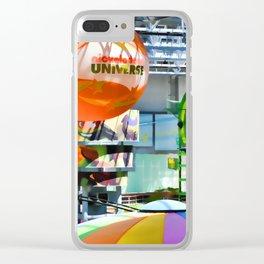 Nickelodeon Universe indoor amusement park Clear iPhone Case