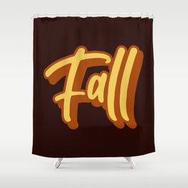 It's Fall! Shower Curtain