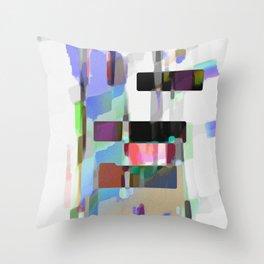 Echoing Platform Throw Pillow
