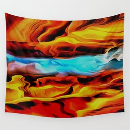 Fire and Ice Wall Tapestry