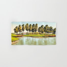 Sawgrass TPC Golf Course 17th Hole Hand & Bath Towel
