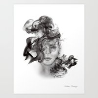 Abstract Portrait I Art Print