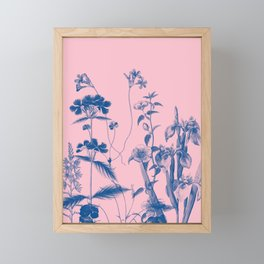garden rise Framed Mini Art Print