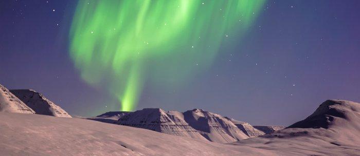 The Northern Lights (Aurora Borealis) Coffee Mug