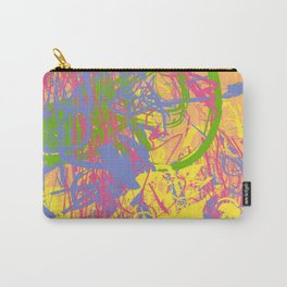 Complex 1 | Soft Pastel Abstract Art | Pastel Wall Art Carry-All Pouch