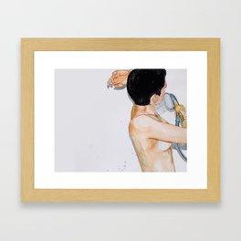 Cuarencha Ducha Framed Art Print