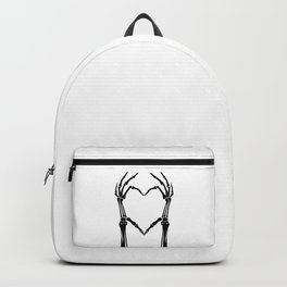 Black Heart of Bones Backpack