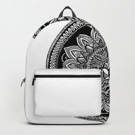 White Mandala Backpack