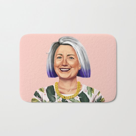 Hipstory - Hillary Clinton Bath Mat