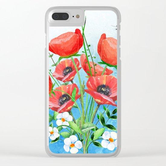 Flowers bouquet #16 Clear iPhone Case