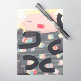 Be a doll - Vindi Vindaloo Design Wrapping Paper