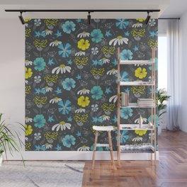 Moonligt Blooms Wall Mural