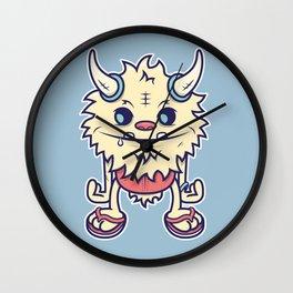 Desert Island Monster Wall Clock