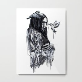 Empty soul Metal Print