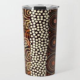 Geometric African Pattern Travel Mug