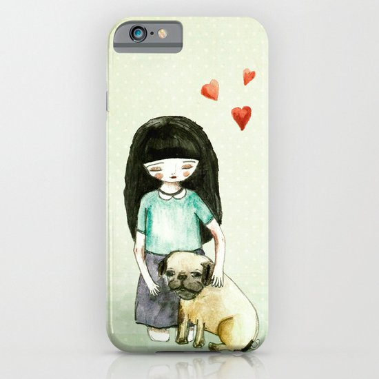 Pug is my best friend iPhone & iPod Case
