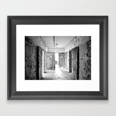 Ajar Framed Art Print