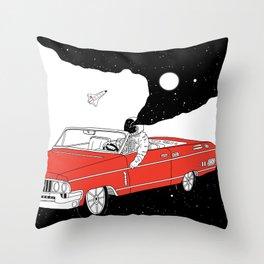 Passing Dream Throw Pillow
