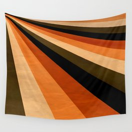 Autumn Stripes Wall Tapestry