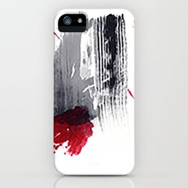 dissolved in red iPhone Case
