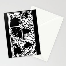 Monotype Map (Black) Stationery Cards