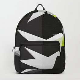 Black and White Paper Cranes Backpack