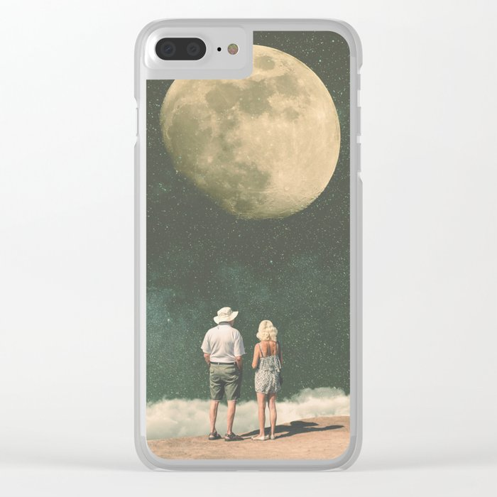 The Presence of Nostalgia Clear iPhone Case