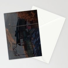Walking bridge Stationery Cards