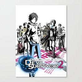 Shin Megami tensei Devil Survivor 2 Canvas Print