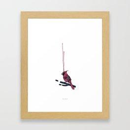 Cardenalis Cardenalis Framed Art Print