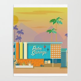 Palm Springs Apartment Poster
