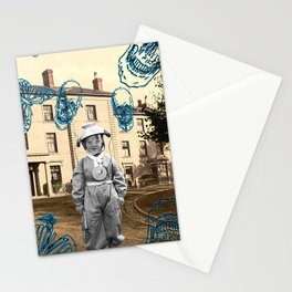 haunted child Stationery Cards