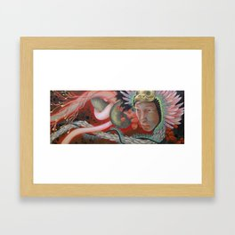 Search For Sight Framed Art Print