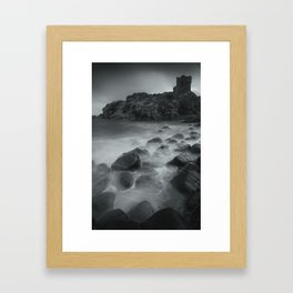 Kinbane Castle V Framed Art Print