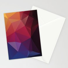 Geometric Mix 3 Stationery Cards