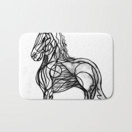 Horse2 Bath Mat