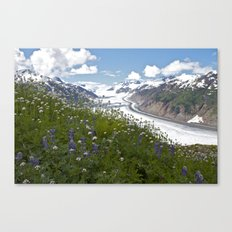 Glacial Flowers Canvas Print