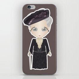 Violet Crawley, Dowager Countess of Grantham iPhone Skin