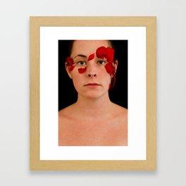 the sarajevo rose project (lisa I)  Framed Art Print