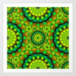 Psychedelic Visions G146 Art Print