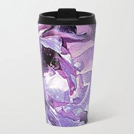 Purple Rose Travel Mug