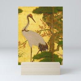 16th Century Japanese Birds & Flowers Mini Art Print