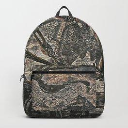 God of War Kratos Artistic Illustration Pebbles Style Backpack
