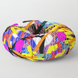 SQUIZZY PATTERN Floor Pillow