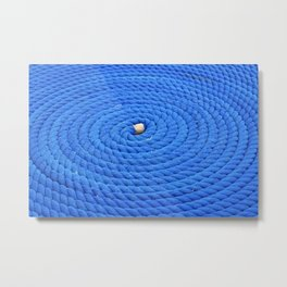 blue rope  Metal Print