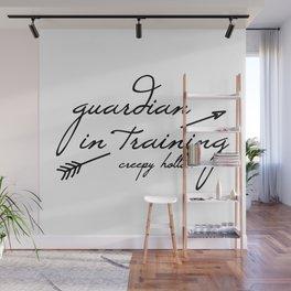 Guardian in Training Wall Mural