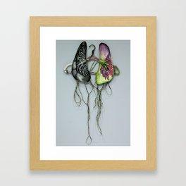 Lungs on Hanger Framed Art Print