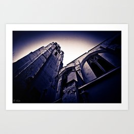 Church Series #3 Art Print