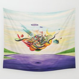 Ocular Sounds Wall Tapestry