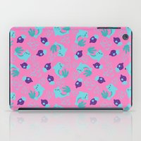 dolphins iPad Cases featuring dolphins by lindseyclare